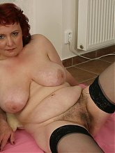 This hot mature slut really wants cock and cum